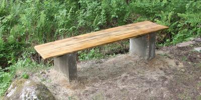 Садовая скамейка глазами инженера и его родственников.