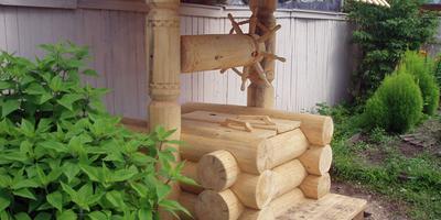 10 идей использования бревен на даче