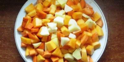 Тыквенные оладушки с морковкой и картошкой