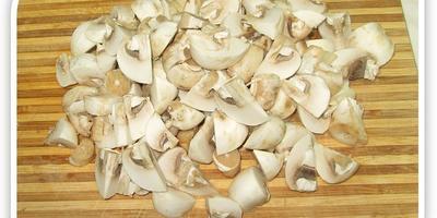 Жульен  с картофелем и грибами