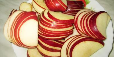 """Яблочное пирожное """"Розы"""""""