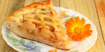 """Яблочный пирог """"Плетенка"""""""