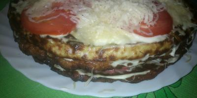 Тортик из кабачков.
