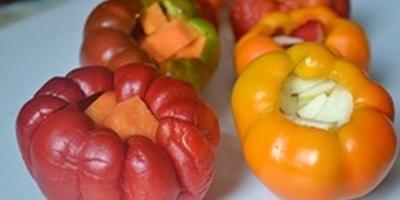 Гогошары с начинкой в маринаде