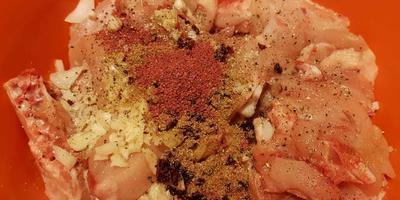 Шашлык по-грузински из курицы. Необычный рецепт маринования