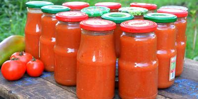 Домашний кетчуп. Много лет готовлю только его