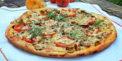 Итальянская пицца по рецепту Андреа Галли