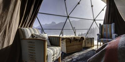 Современный дачный дизайн: гео-купол