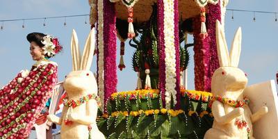 В Таиланде завершился «Фестиваль цветов 2014»