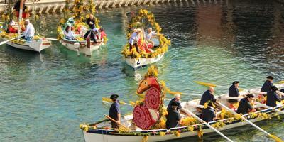 В Ницце прошел флористический лодочный фестиваль