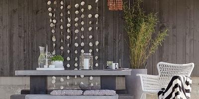 Скандинавский стиль для вашей террасы с мебелью от IKEA