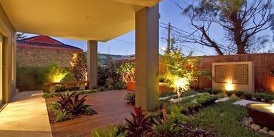 Фотографии с австралийского конкурса ландшафтных дизайнеров