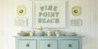 Декор дома в пляжном стиле