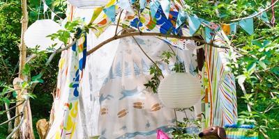 8 идей для обустройства детского уголка на даче