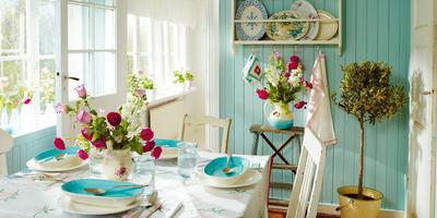 Дачный домик в стиле винтаж — очаровательная идея для интерьера