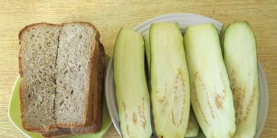Остренькие бутерброды с баклажанами