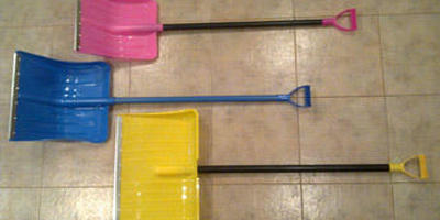 Отзыв о лопате для уборки снега МетПластик