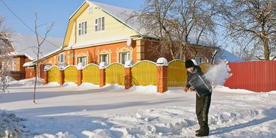 Отзыв о лопате для уборки снега PALISAD