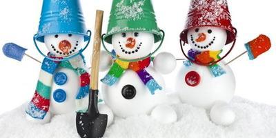 На 7дач - выходные со Снеговиками!