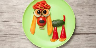 Забавные украшения блюд. Подача к столу позитива
