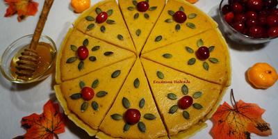 Американский тыквенный пирог со сгущенкой