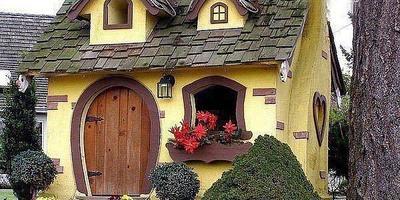 Я хочу такой дачный домик...