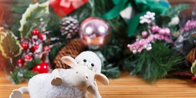 Как украсить елку в год Овцы?