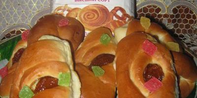 Чудесные пирожки с сухофруктами