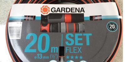 Шланг GARDENA FLEX 13 с комплектом для полива оправдал ожидания!