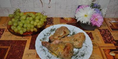 Куриные ножки, фаршированные грибами и сыром