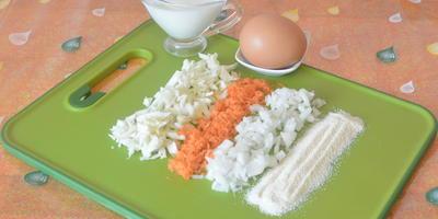 Капустно-морковные котлеты