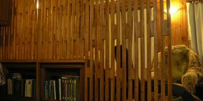 Деревянная перегородка в деревенском и в дачном доме. И ещё заборчик для ...