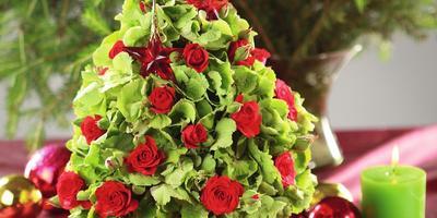 Новогодняя флористика: роскошь, нежность, элегантность!