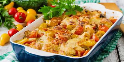 10 рецептов овощных запеканок