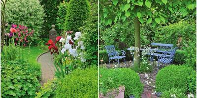 15 больших идей для маленького сада