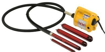 Глубинный вибратор для бетона: устройство и приемы работы