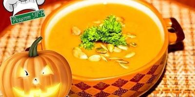 Тыквенный суп-пюре. Блюда из тыквы