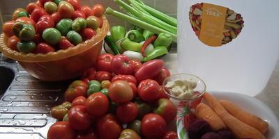 Давайте засолим помидоры!