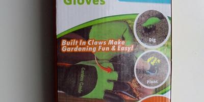Отчет о получении посылки с перчатками Garden Genie Gloves для тестирования