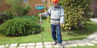 Щетка GARDENA для уборки террас и садовых дорожек