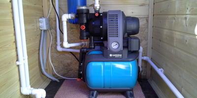 Агрегат мал, да польза большая - насосная станция GARDENA Classic Eco 3000/4