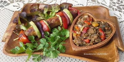 """Сезонный салат """"Мангал-салат"""" к шашлыку"""