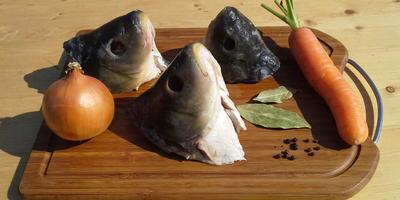 """Рыба по-восточному"" с овощами - в чугунном казане на углях"