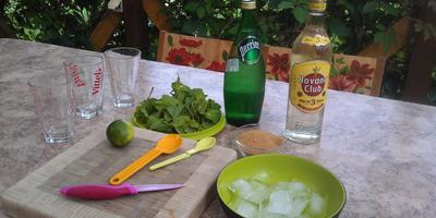 "Напиток для праздника - коктейль ""Мохито"" в дачных условиях"