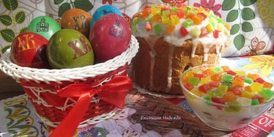 Поздравляю всех с праздником Светлой Пасхи!