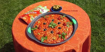 """Пицца с Томатным кетчупом """"Махеевъ"""""""