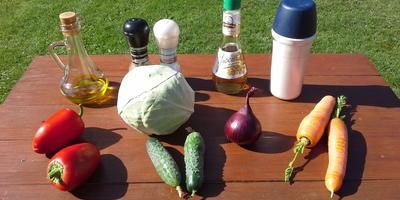 """Витаминный салат """"Овощной - Осенний - Огородный"""""""