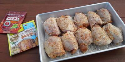 Куриные бедра табака, приготовленные в тандыре