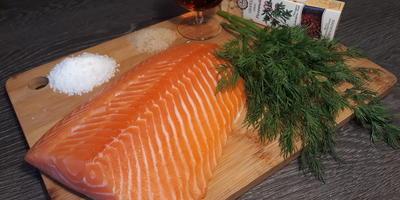 Малосольный лосось по-скандинавски. Тает во рту