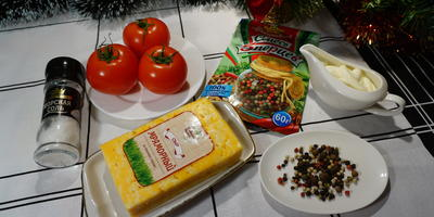 """Порционная острая закуска """"Новогодние Морозы"""". Съедается в один момент"""